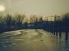 De haven was dichtgevroren